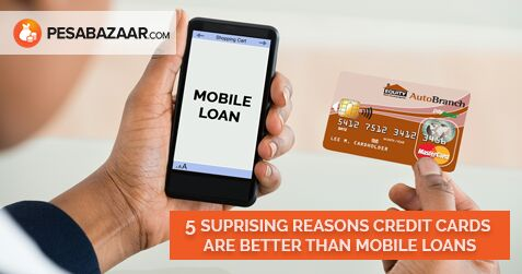5 Surprising Ways Credit Cards Are Better Than Mobile Loans